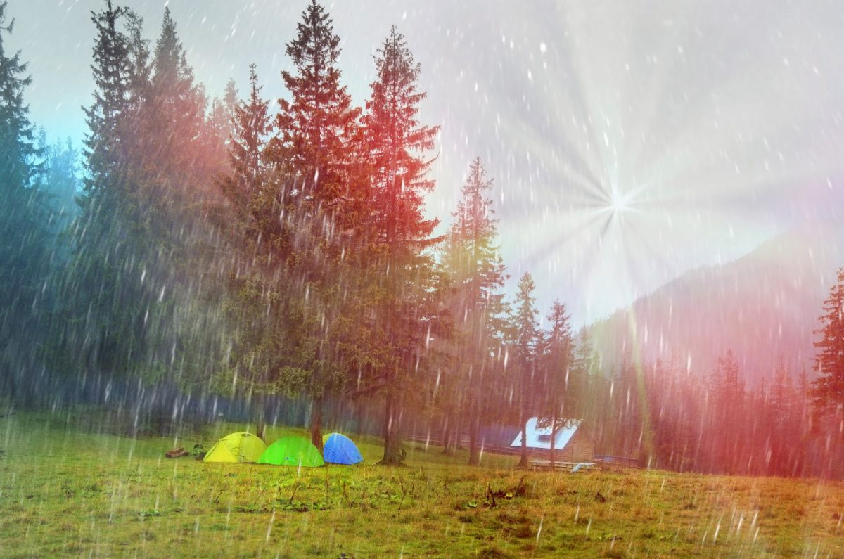 Our Favorite Tips for Keeping Dry While Camping in the Rain