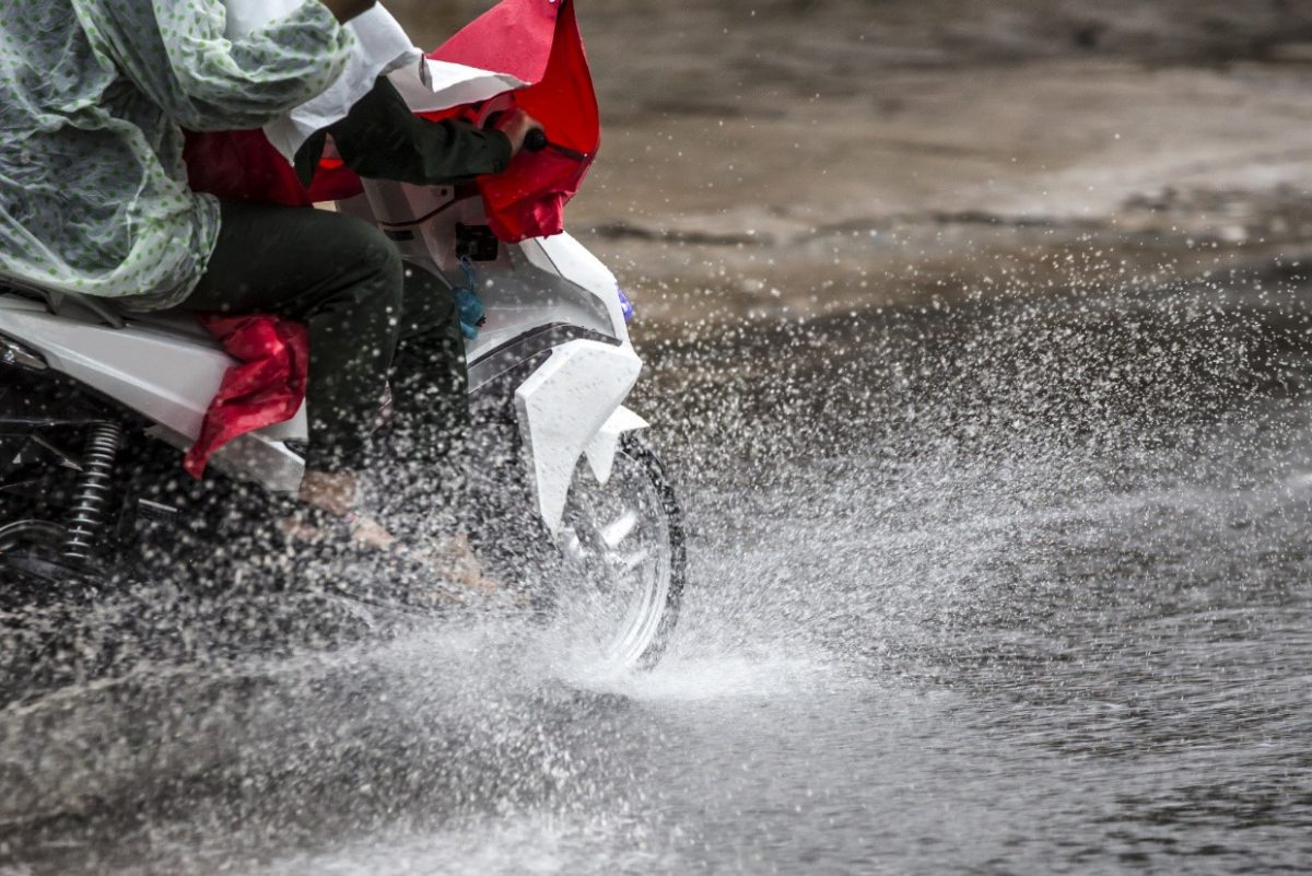 8 Tips for Riding Your Motorcycle in Rain